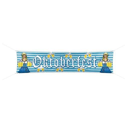 Strassenbanner Straßen-Banner Banner Oktoberfest fest Party Deko dekoration Beer