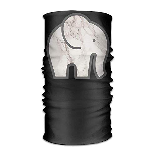 Marble Elephant Headwear For Men And Women-Yoga Sports Travel Workout Wide Headbands,Neck Gaiter,Bandana,Helmet Liner,Balaclava,Hair Turban,Scarf
