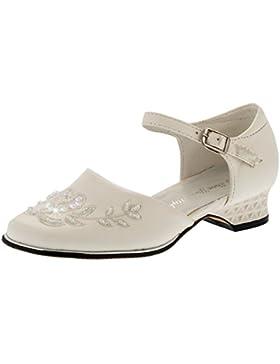 Mädchen Festtags Schuhe, Pumps m. Pailletten