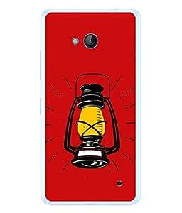 PrintVisa Designer Back Case Cover for Microsoft Lumia 640 LTE (Love Lovely Attitude Men Man Manly)