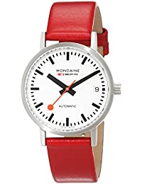 Mondaine Damen-Armbanduhr SBB Classic Automatic Date 33mm Analog Automatik A128.30008.16SBC