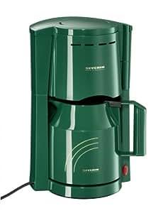 Severin KA 9209-259 Cafetière 2 verseuses Isotherme/ jusqu'à 8 tasses 800 W vert (Import Allemagne)