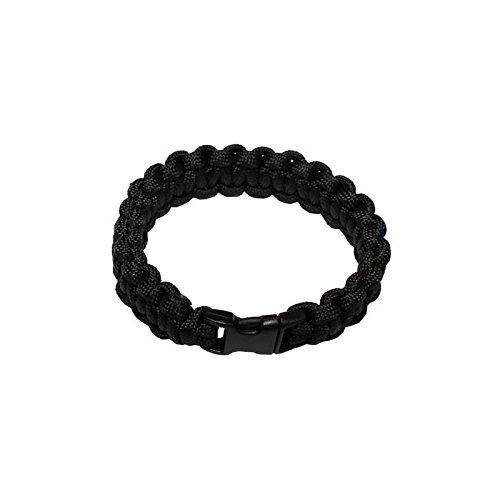 Para Armband 22mm Kst.Verschl. schwarz Gr.M