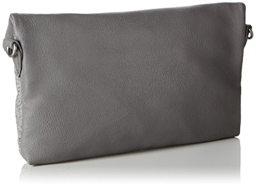 TamarisBESS Clutch Bag - Pochette Donna Grau (grey comb 295)