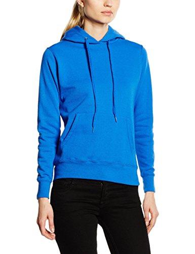 Frutta Di Orto - Hooded Sweat, Felpa unisex,  manica lunga, collo con cappuccio Blu (Royal)