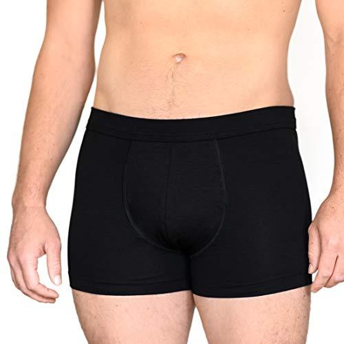 laulas Sureshorts Inkontinenz-Shorts Herren - Unterwäsche Für Inkontinenz & Blasenschwäche bei Männern - Standard, L