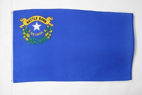 AZ FLAG Flagge Nevada 150x90cm - Bundesstaat Nevada Fahne 90 x 150 cm - flaggen Top Qualität