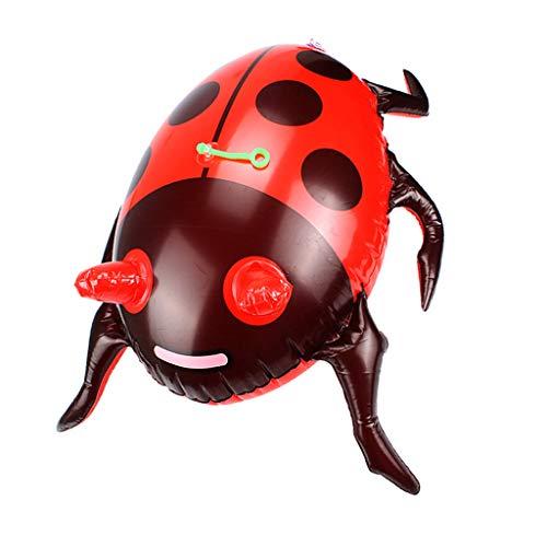 B Baosity Aufblasbares Leuchtendes Käfer Spielzeug Requisiten Zubehör für Halloween Party Dekorationen