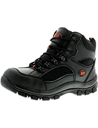 New Mens//Gents Navy Tradesafe Lace Up Steel Toe Cap Safety Shoes UK Size