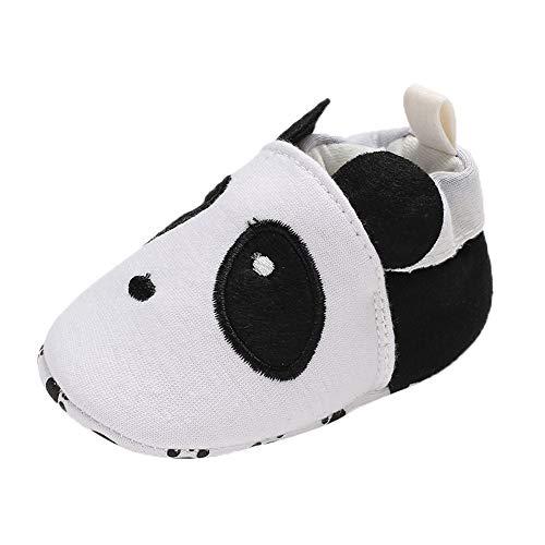HEETEY Junge Mädchen Schuhe Winter warm Soft Booties Schnee Cartoon Panda Schuhe Prewalker warme Schuhe - Baby Soft-sohlen Leder-booties