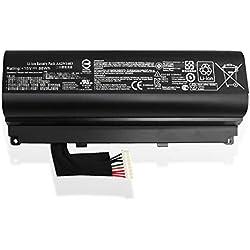 ANTIEE Compatible 88WH A42N1403 Notebook Batterie pour ASUS ROG G751 Gaming Laptop G751JL G751JM G751JY GFX71JY Series G751JT-DH72 A42LM93 4ICR19/66-2 G751J-BHI7T25 GFX71JY4710 15V