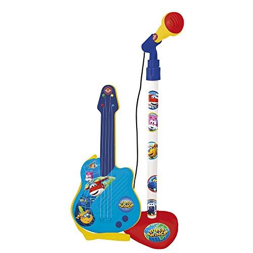 Super Wings 2110 Die Die Eiskönigin Gitarre mit Mikrofon