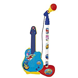 Super Wings Micrófono y Guitarra (Claudio Reig 2110)