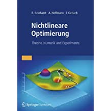 Nichtlineare Optimierung: Theorie, Numerik und Experimente