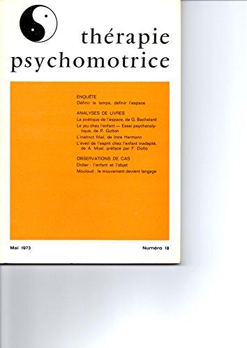Thérapie Psychomotrice N°18