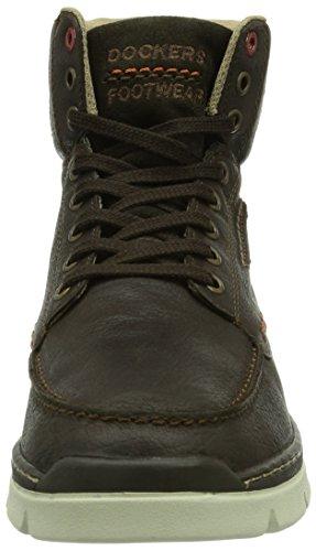 Dockers by Gerli 352610-239010 Herren Hohe Sneakers Braun (chocolate  010)