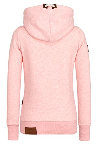 Naketano Darth X W sweat à capuche Sugar Pink Melange
