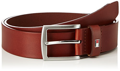 Tommy Hilfiger Herren Gürtel New Denton 3.5 Belt, Braun (DARK TAN 257), 100 cm, E3578A1208257