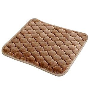daynecety 1Auto Sitzkissen Stuhl Kissen für Küche Home Kissen Fußmatte, helles kaffebraun, 40cm*40cm/15.74