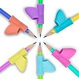 6 Piezas de Soporte de Lápiz de Niños Herramienta de Corrección de Postura de Escritura para Lápices