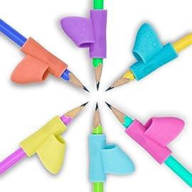 6-Stck-Kinder-Bleistifthalter-Stift-Schreiben-Grip-Haltung-Korrektur-Werkzeug-fr-Bleistifte