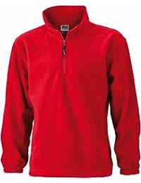 James & Nicholson JN043 Mens Half Zip Outdoors Fleece Top