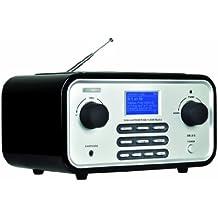 Albrecht DR315+FB4 Wireless-LAN-Radio DAB/DAB+/FM, Wecker) inkl. Fernbedienung schwarz