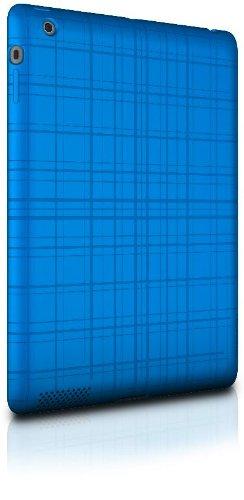 XtremeMac PAD-TW3-23 Tuffwrap Peacock Blue Schutzhülle für iPad 2. & 3. Generation (hochwertiges Silikon-Case) blau Xtrememac Ipad