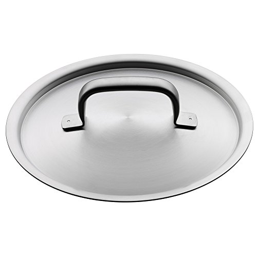 Wmf Cookware Ø 24 Cm Approx. 5,7l Gourmet Plus Inside Scaling Vapor Hole Made In Germany Hollow Side Handles Metal Lid Cromargan Stainless Steel Suitable For All Stove Tops Including Induction Dishwasher-safe