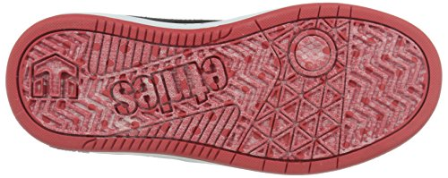 Etnies KIDS FADER LS - Scarpe da Skateboard Unisex per bambini Nero (Black/White/Red978)