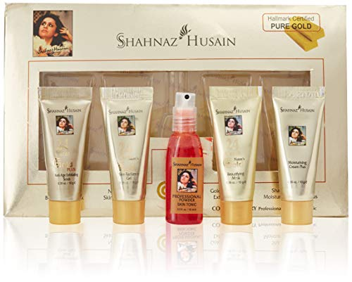 Shahnaz Husain 24 Carat Gold Skin Radiance Tieless Youth (Free Shipping) by Subhlaxmi Grocers