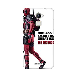 Mobicture The Red Superhero Premium Printed High Quality Polycarbonate Hard Back Case Cover for Coolpad Note 3 Lite With Edge to Edge Printing