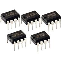 Potencia de Amplificador 5 x LM386N audio 8 pines DIP IC