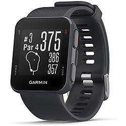 Garmin APPROACH S10 Montre GPS de Golf Bleu Granite