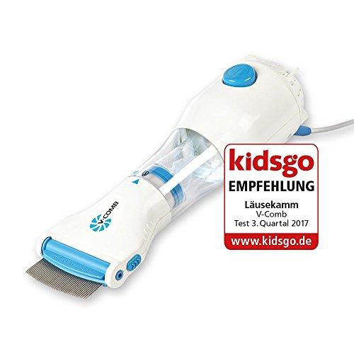 Vacío piojos Peine V de Comb–USB compatible–wirksames läusem ittel para prevenir, tratamiento y distancia de läuseeiern y cabeza de läusen