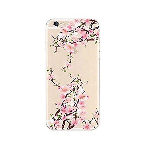 coque-iphone-6-6svanki-motif-plantes-fleurs-housse-transparente-housse-tpu-souple-etui-de-protection