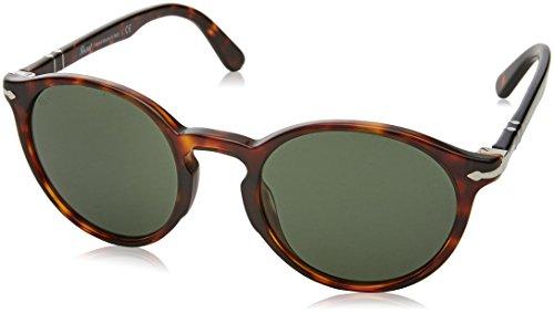 Persol Herren 0Po3171S 24/31 49 Sonnenbrille, Braun (Havana/Green),
