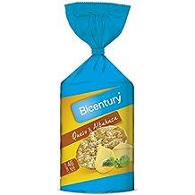 Bicentury Tortitas Maíz Queso y Albahaca Nackis - 123.5 g