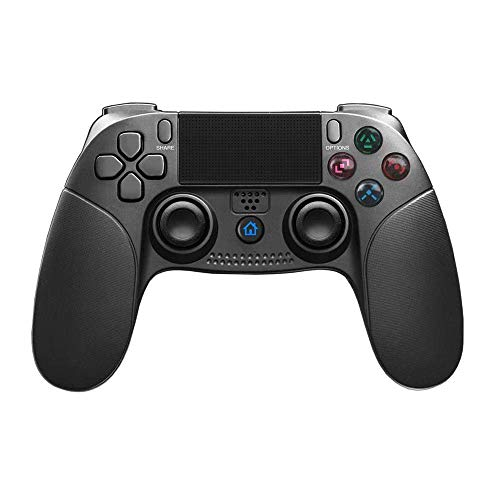 Controller PS4, JFUNE Controller di Wireless Bluetooth Controller di Gioco a Doppio Shock per PlayStation 4 e PlayStation 3 e Videogiochi per PC