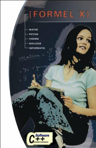 Formel X - Berechenbare Formelsammlung für Schüler und Studenten mit Formeln aus Mathematik, Physik, Chemie, Biologie und Informatik: Lernsoftware für Freischaltcode finden Sie direkt auf der CD
