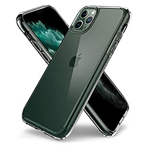 Spigen Ultra Hybrid, Super Clear Hard PC Back, Designed for iPhone 11 Pro Max Case (2019) - Crystal Clear