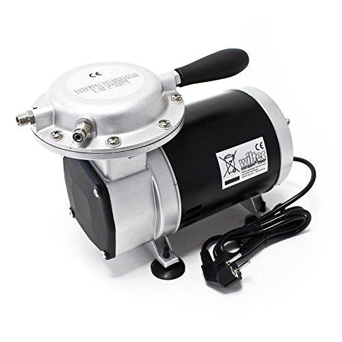 Compressore per aerografo AS09 Compressore a membrana 3,5 bar silenzioso 55 decibel