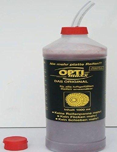 OPTImaxx Reifendicht-Gel Professional 1 Liter Flasche incl. Handfüllgerät