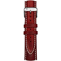 Oxygen Unisex Red Leather Buckle Pin of 20cm EX-CLS-STR-20-RE