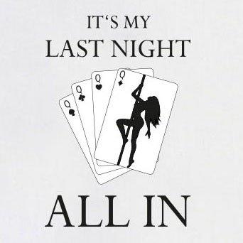 TEXLAB - Last Night - Langarm T-Shirt Weiß