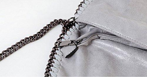 Keshi Pu Niedlich Damen Handtaschen, Hobo-Bags, Schultertaschen, Beutel, Beuteltaschen, Trend-Bags, Velours, Veloursleder, Wildleder, Tasche Aprikose