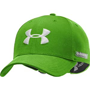 2013 Under Armour Charged Cotton Adjustable Cap-Parrot Green
