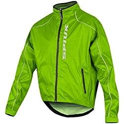 Spiuk Top Ten Membrana Chubasquero Impermeable Unisex Color Verde Para Ciclismo Talla L