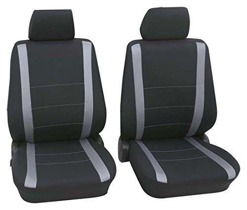 Faszination 85485, coprisedili auto, sedili anteriori, nero, grigio