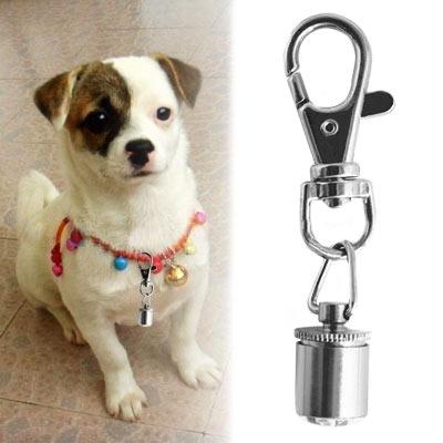 COM-FOUR blinkender LED Anhänger für Ihr Haustier Sicherheits Licht Lampe Halsband Katze Hund Gassi (2 Stück) - 5
